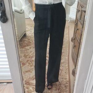 Black high waist dress pants